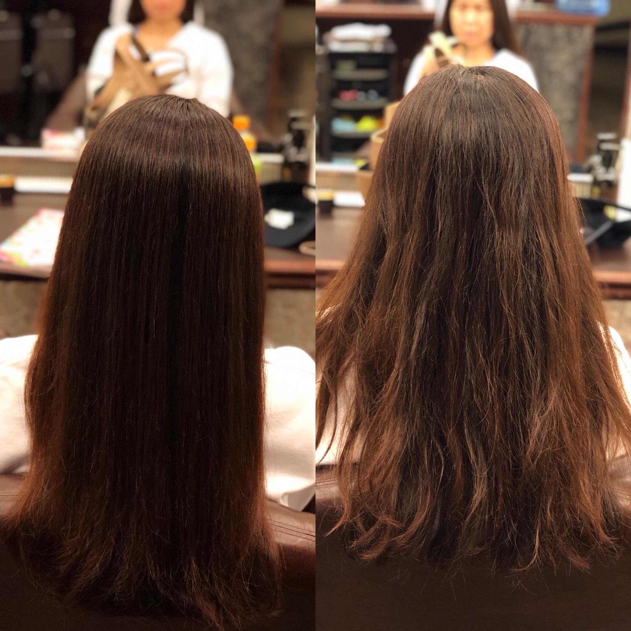 髪質改善メニュー開発ちゅう♪